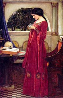Waterhouse, The Crystal Ball