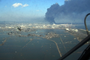 Sendai, Japan after the 2011 tsunami: imagine nature's destruction at the push of a button