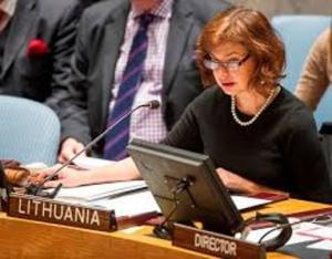 Lithuania's Ambassador to the UN Raimonda Murmokaitė (Lithuanian Ministry of Foreign Affairs)