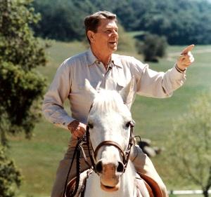 Reagan-on-horseback